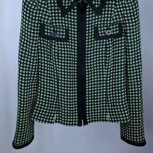 Carlisle Jackets & Coats - Carlisle 2 Blazer Zip Up Black Green